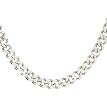 Girocollo Groumette con maglia diamantata maxi