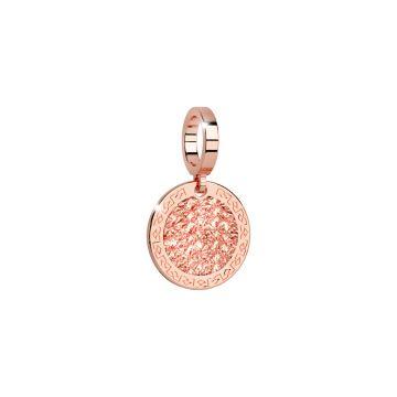 Charm con diamantatura rosa