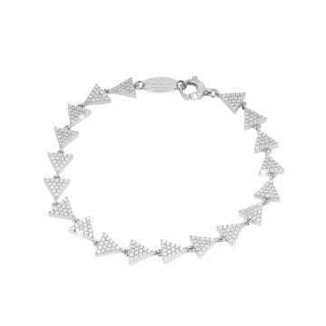 Bracciale Diana con triangoli in cristalli
