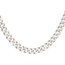 Girocollo Groumette con maglia diamantata