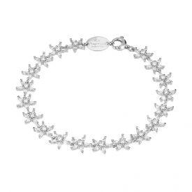 Bracciale Diana con fiori in cristalli